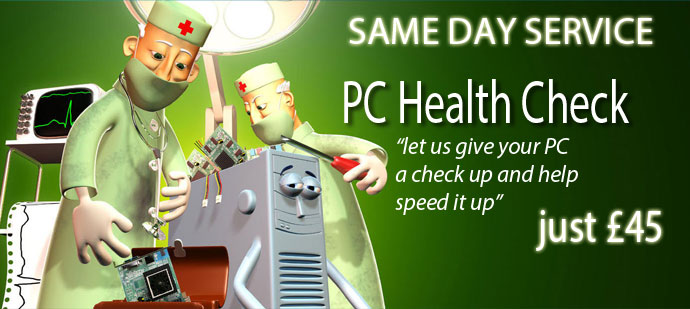 PC Health Check £45