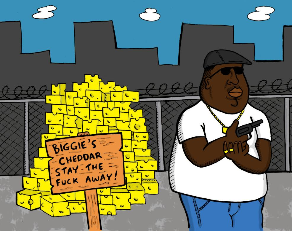 Notorious BIG illustration