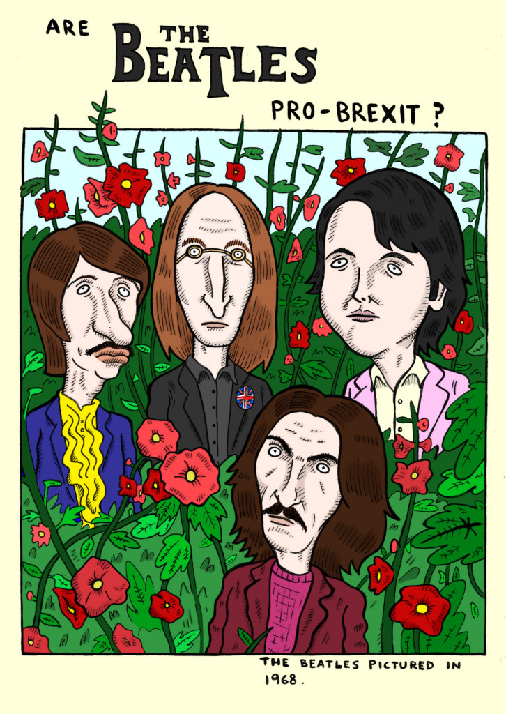 Are The Beatles Pro-Brexit? | Gut Feelings Zine