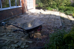 Autumn Green Sandstone Before