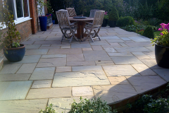 Autumn Green paving After